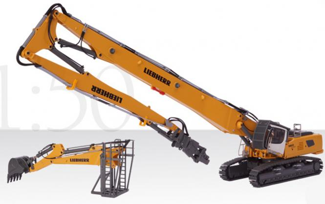 LIEBHERR Excavator R960 SME with Demoliton and Backhoe configuration