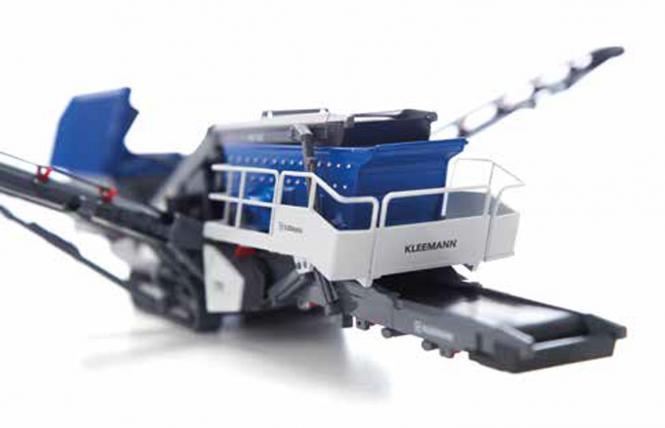 KLEEMANN Mobile Dreidecker-Siebanlage  MS 703 EVO