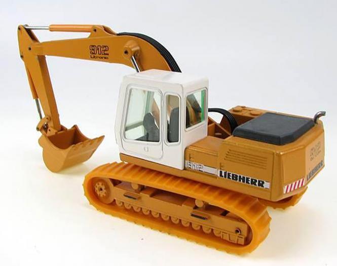 LIEBHERR Kettenbagger R912 mit Tieflöffel