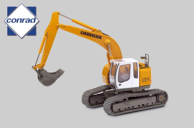 LIEBHERR Kurzheckbagger R924 Compact