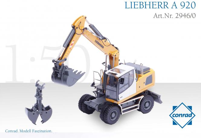 liebherr wheeled excavator a920 with. Black Bedroom Furniture Sets. Home Design Ideas