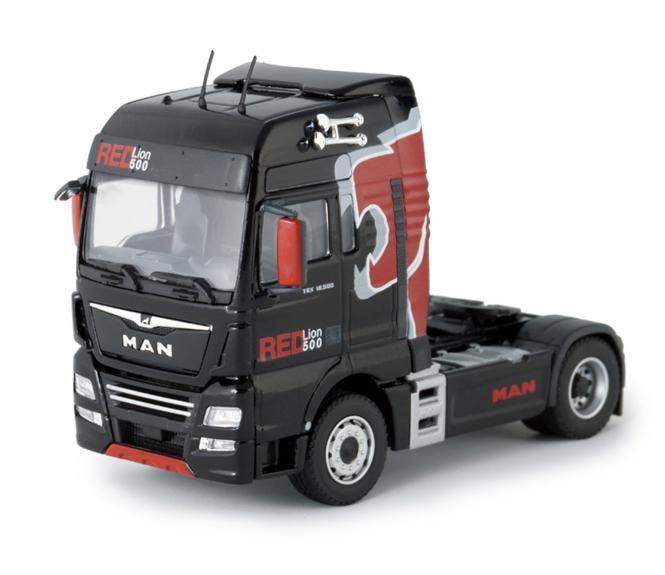 """MAN TGX XXL 18.500 4ax2  Solozugmaschine """"Red Lion"""""""