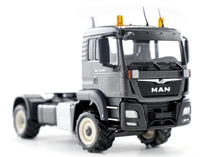 MAN TGS 18.500 4x4 Agrar Solozugmaschine, grau