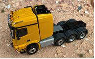 MB Arocs SLT 8x6 Schwerlastzugmaschine, gelb