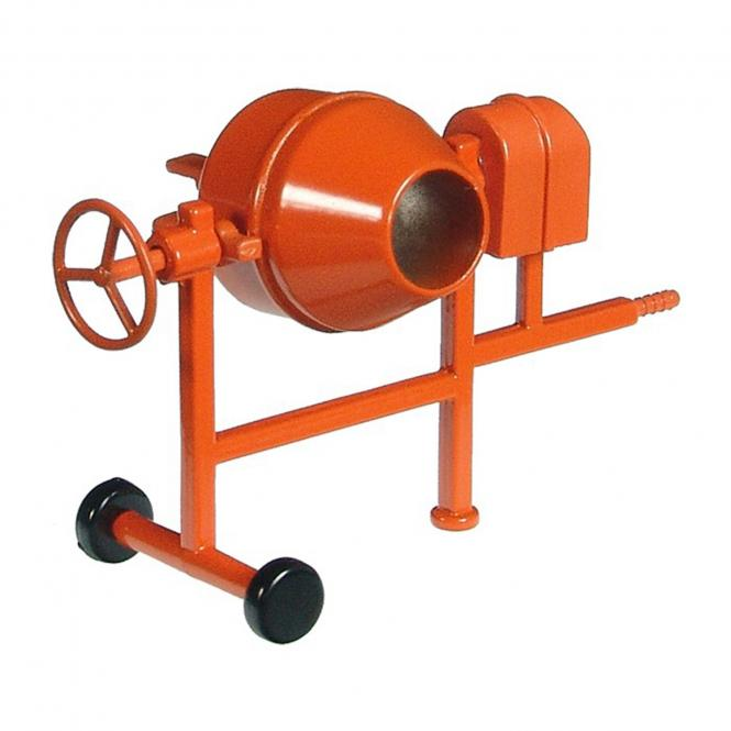 Mörtelmaschine, orange