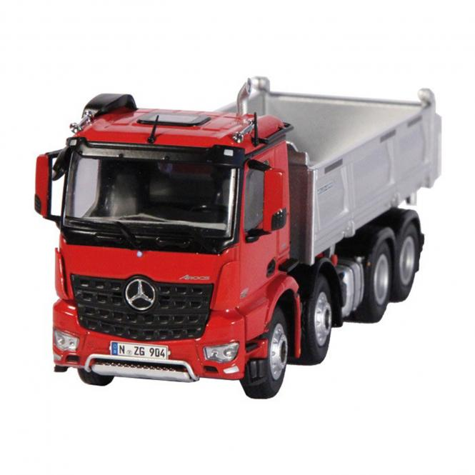 MB Arocs 8x4 with MEILLER Tipper, red/silver