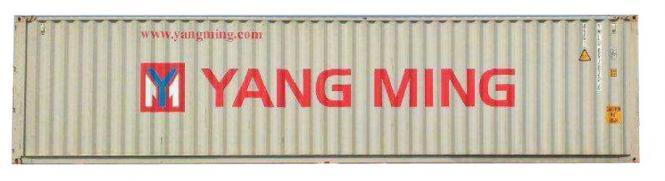 "40 Fuß Container ""YANGMING"""