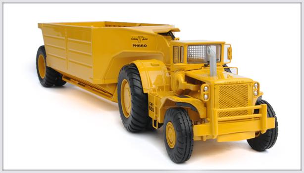CAT Bodenentleerer 660