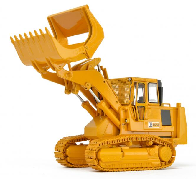 CAT Track Loader 973 with closed cab and Demolution Package