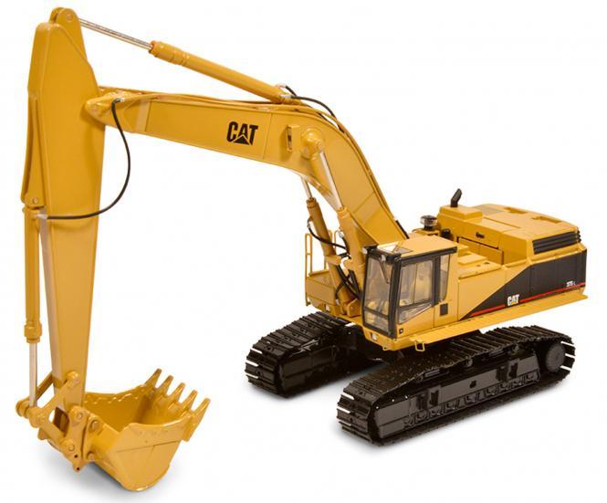 CAT Bagger 375L mit 2 Löffel