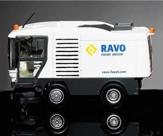 RAVO Kehrmaschine 5000 Serie, weiss