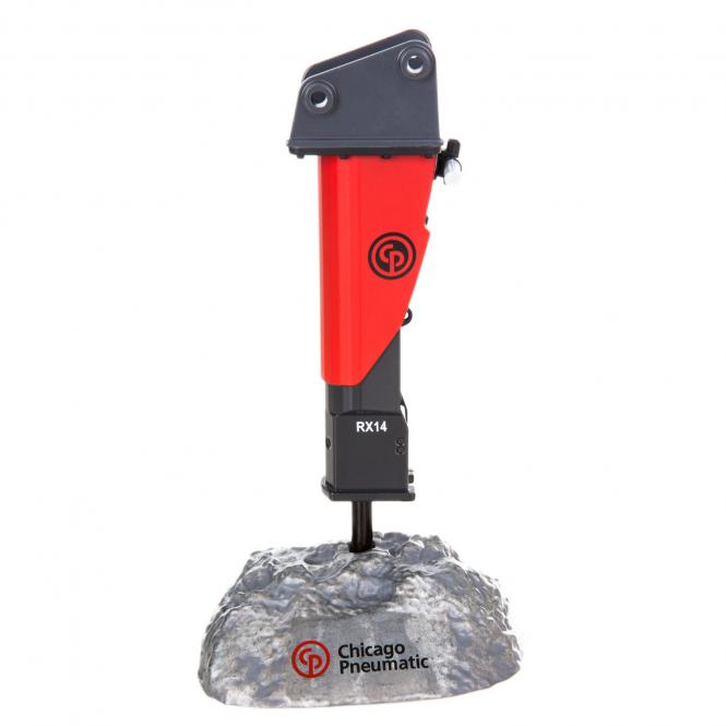 CHICAGO PNEUMATIC Hammer RX14 in stone
