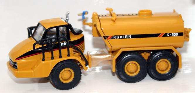 CAT Dumper 730 mit KLEIN Wassertank
