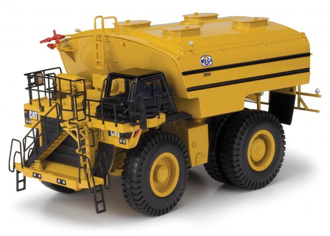 CAT dump truck 785D with MEGA water tank MWT30