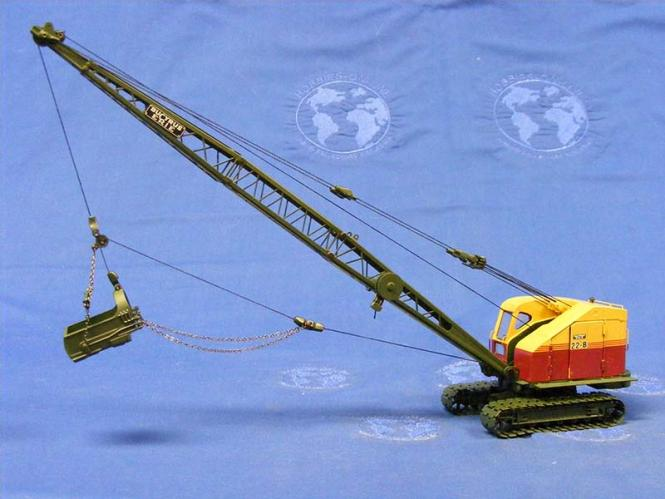 BUCYRUS-ERIE dragline RB22