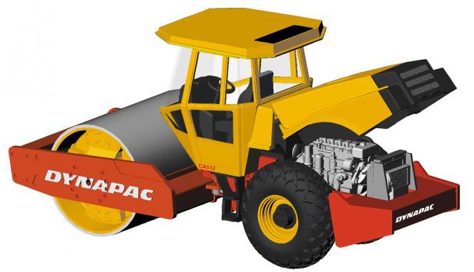 DYNAPAC roller CA512