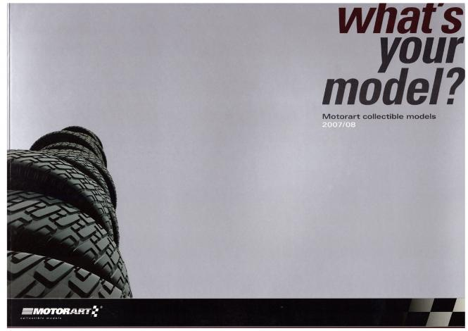 Motorart - Modell Katalog 2007/08