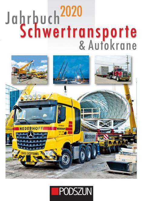 Buch: Jahrbuch 2020 Schwartransporte & Autokräne