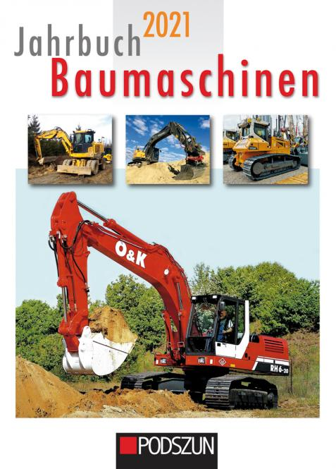 Buch: Jahrbuch Baumaschinen 2021