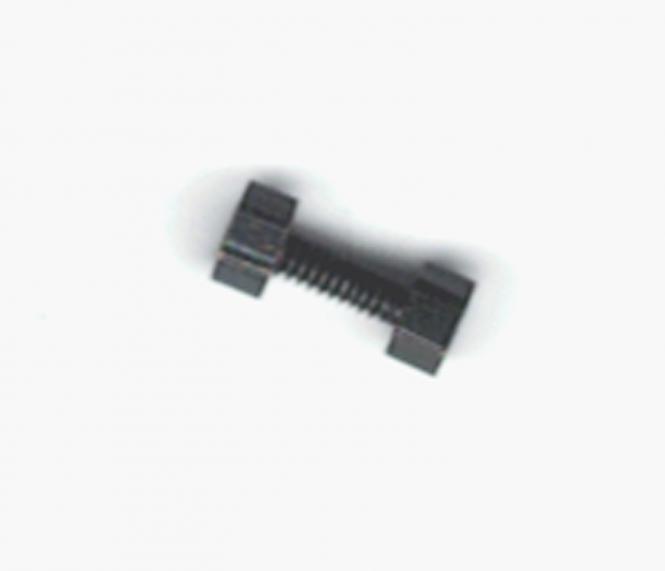 20 Stück M1 Metallschrauben mit 6-Kantkopf und Mutter 5 mm lang