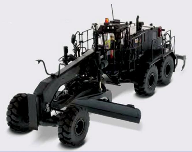 CAT Motor Grader 18M3, black