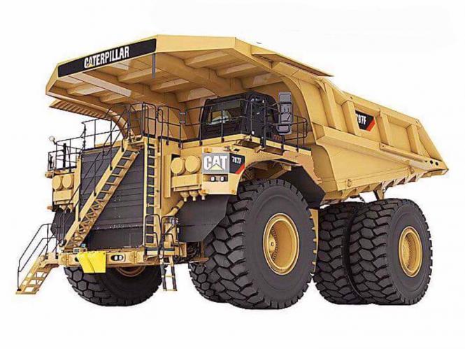 CAT Dumper 797
