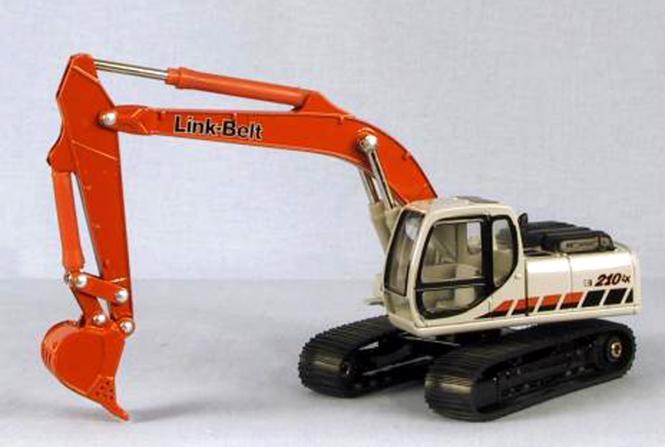 LINK BELT Bagger 210LX-3 mit Tieflöffel