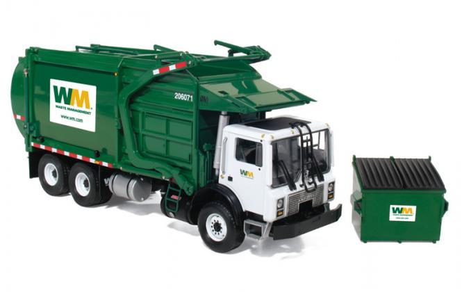 """MACK 3achs LKW mit TerraPro Front-Mülllader """"Waste Management"""""""