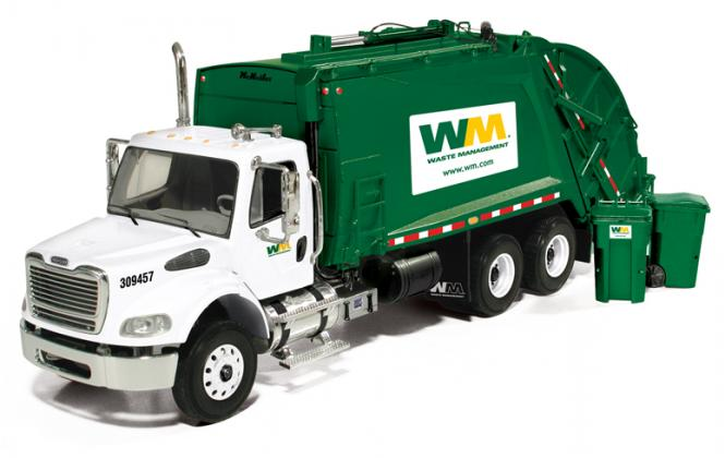 "FRIGHTLINER M-2 Rear Load Refuse truck ""Waste Management"""
