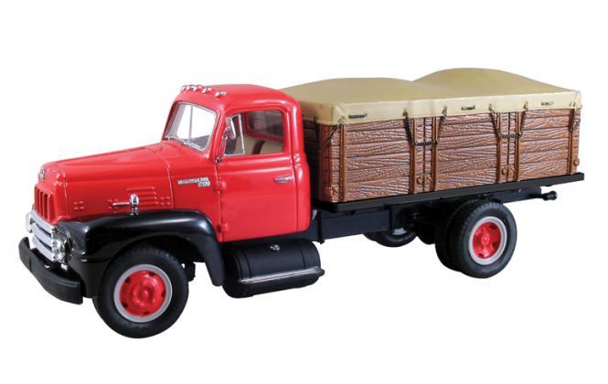 INTERNATIONAL R-Series Grain truck, red-black