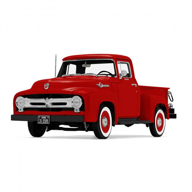 "FORD Pickup von 1956 ""Vermillion Red"""