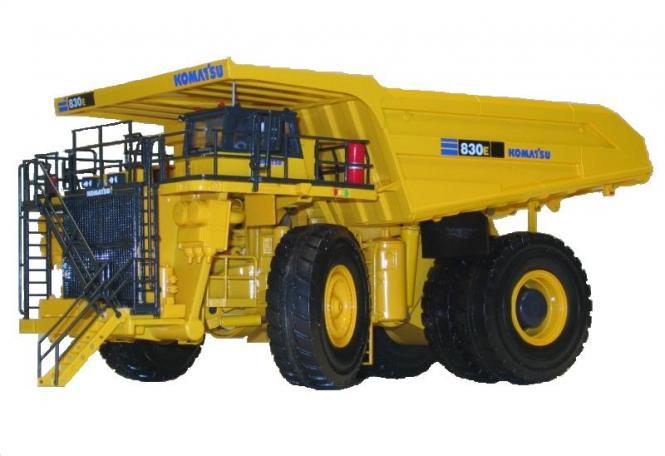 KOMATSU Muldenkipper 830E-AC