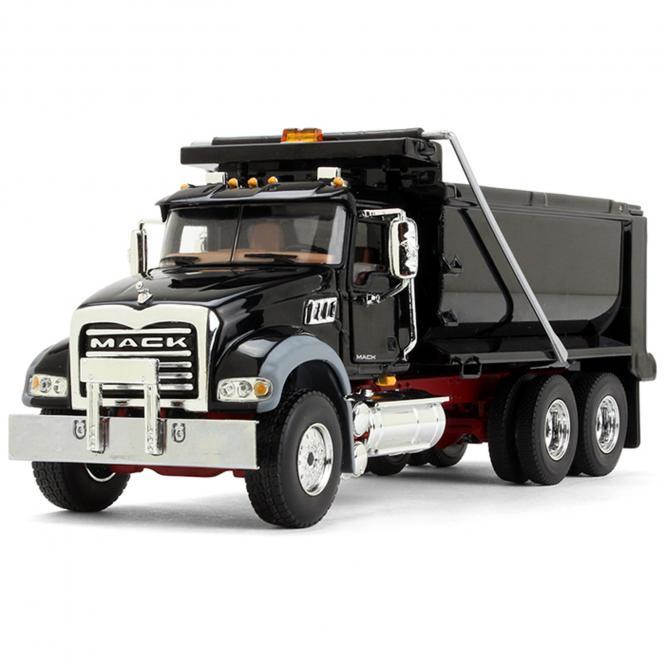 MACK Granite Dump Truck, black /red