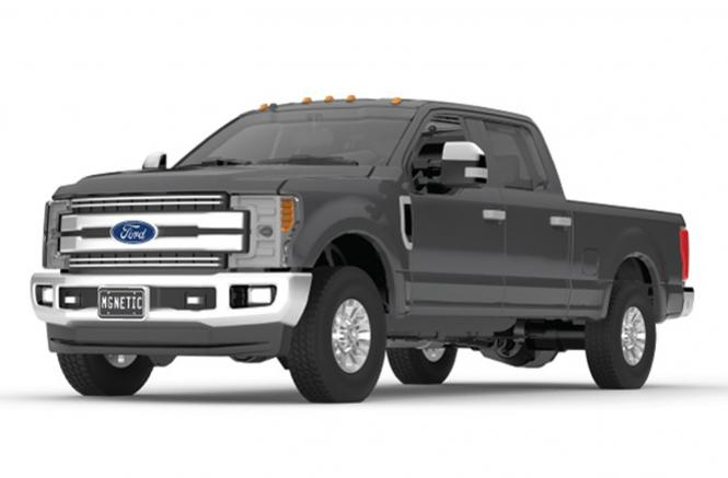 FORD F-250 Super Duty Pickup, magnetic