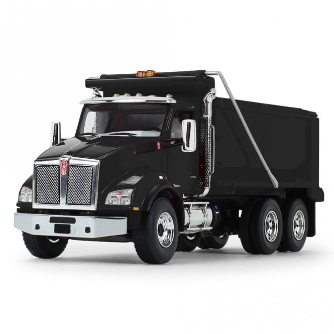 KENWORTH T880 3achs Kipper, schwarz