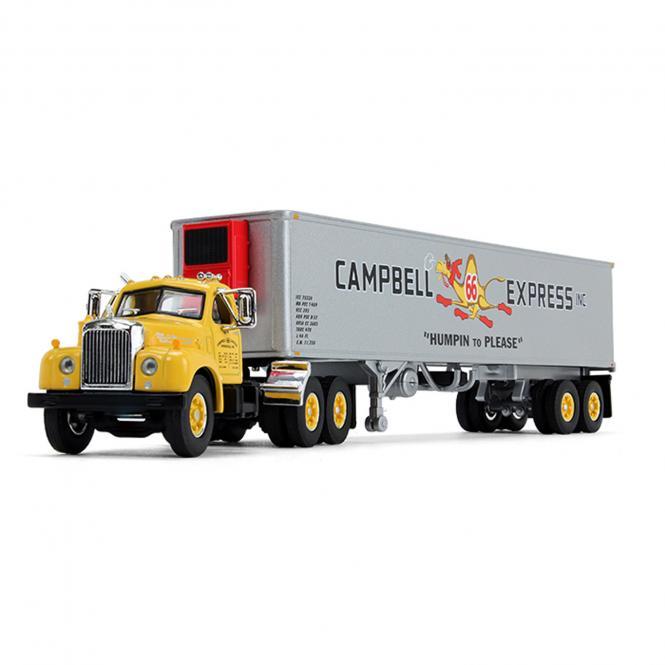 "MACK B-61 DayCab mit 40´Vinatge Auflieger ""Campbell Express Inc"""