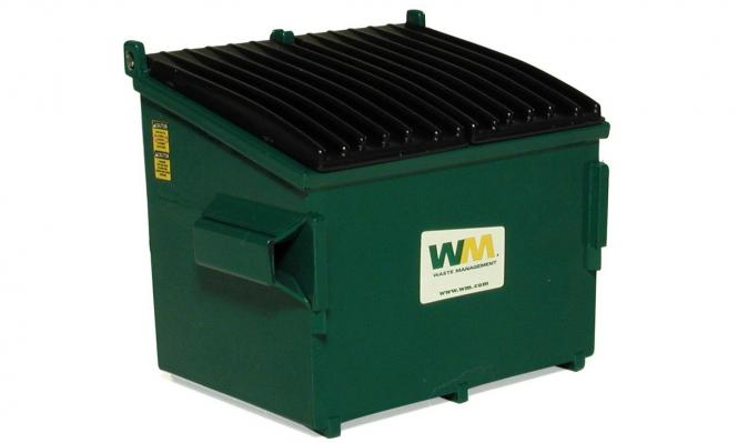 "Mülltonne ""Waste Management"""