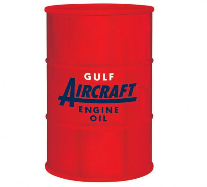 "Spardose: 55-Gallon Ölfass ""Gulf Oil Aviation"""