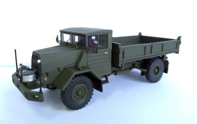MAN 5to Militär 630 L2A mit Kipperaufbau