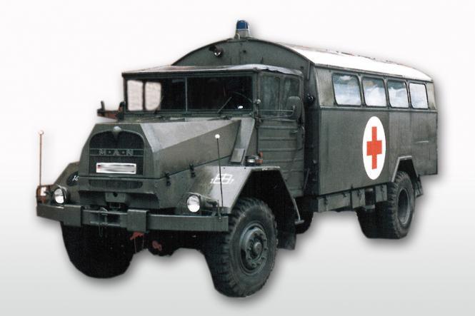 MAN 5to 630 L 2 AE mit BW-Koffer, olivgrün