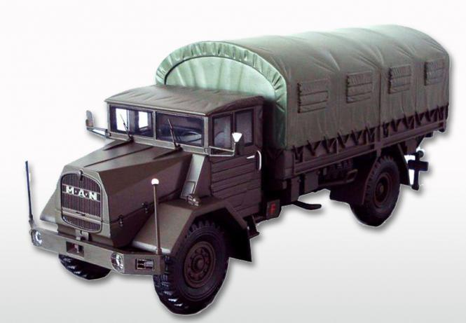 MAN 5to Militär 630 L2A mit Planenaufbau