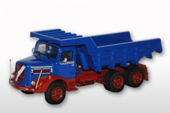 ÖAF Tornado 230 3achs (6x4) mit Steinmulde, rot/blau