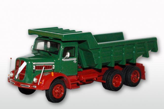 ÖAF Tornado 230 3achs (6x4) mit Steinmulde, rot/grün