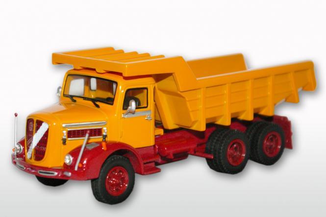 ÖAF Tornado 230 3achs (6x4) mit Steinmulde, rot/gelb
