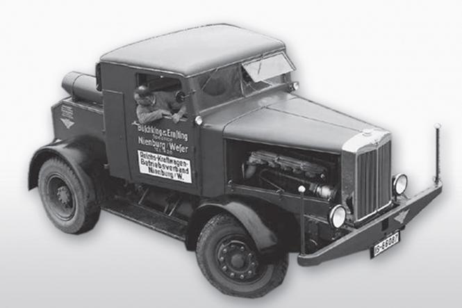 HANOMAG SS100 Solomaschine