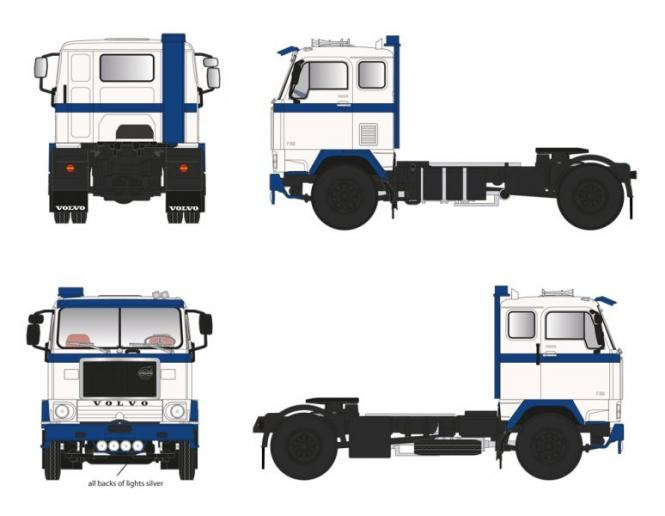 VOLVO F 88 - 38 TZ 2axle Solo Truck