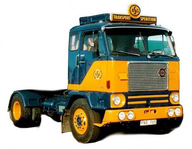 """VOLVO F88 Solo Truck """"ASG"""""""