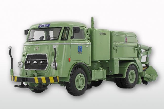 DAF T1300 DA265 mit GEESINK Kehraufbau (Winschoten mit Trapezkühler)