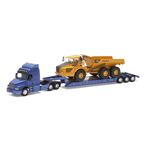 VOLVO NH12 with lowboy + A40D