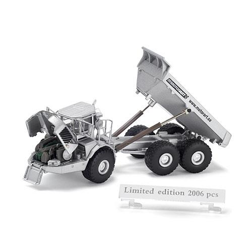 VOLVO Art. Dump Truck A40D, silver